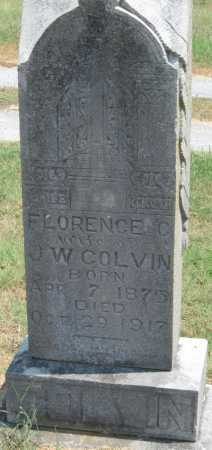COLVIN, FLORENCE - Adair County, Oklahoma | FLORENCE COLVIN - Oklahoma Gravestone Photos