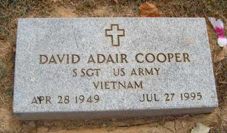 COOPER (VIETNAM), DAVID ADAIR - Adair County, Oklahoma | DAVID ADAIR COOPER (VIETNAM) - Oklahoma Gravestone Photos