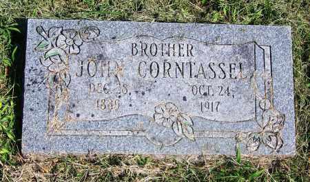 CORNTASSEL, JOHN - Adair County, Oklahoma | JOHN CORNTASSEL - Oklahoma Gravestone Photos