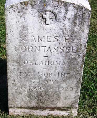 CORNTASSEL, JAMES E - Adair County, Oklahoma | JAMES E CORNTASSEL - Oklahoma Gravestone Photos