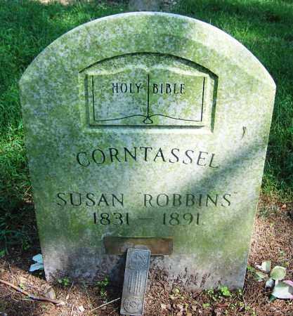 ROBBINS CORNTASSEL, SUSAN - Adair County, Oklahoma | SUSAN ROBBINS CORNTASSEL - Oklahoma Gravestone Photos