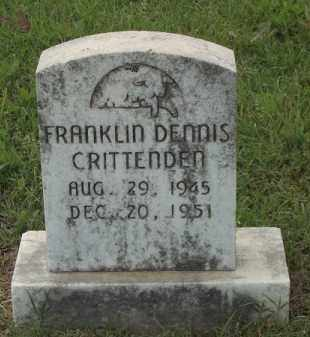CRITTENDEN, FRANKLIN DENNIS - Adair County, Oklahoma   FRANKLIN DENNIS CRITTENDEN - Oklahoma Gravestone Photos