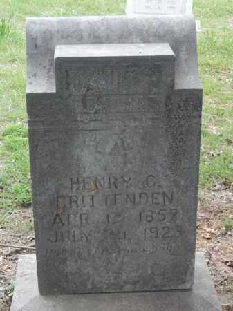 CRITTENDEN, HENRY C - Adair County, Oklahoma | HENRY C CRITTENDEN - Oklahoma Gravestone Photos