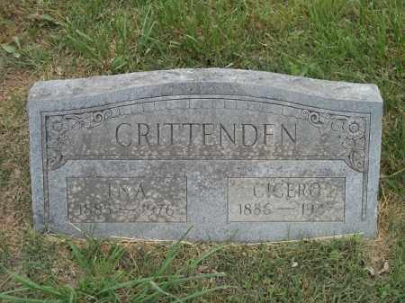 CRITTENDEN, CICERO - Adair County, Oklahoma   CICERO CRITTENDEN - Oklahoma Gravestone Photos