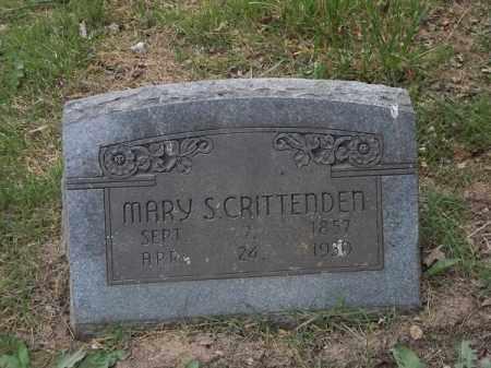 CRITTENDEN, MARY S - Adair County, Oklahoma | MARY S CRITTENDEN - Oklahoma Gravestone Photos