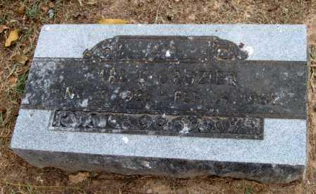 CROZIER, CARL E - Adair County, Oklahoma | CARL E CROZIER - Oklahoma Gravestone Photos