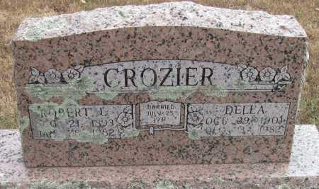 CROZIER, ROBERT L - Adair County, Oklahoma | ROBERT L CROZIER - Oklahoma Gravestone Photos