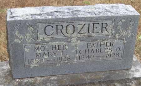 CROZIER, CHARLES O - Adair County, Oklahoma | CHARLES O CROZIER - Oklahoma Gravestone Photos