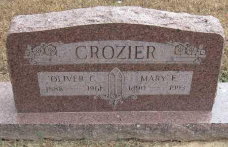 CROZIER, OLIVER C - Adair County, Oklahoma | OLIVER C CROZIER - Oklahoma Gravestone Photos