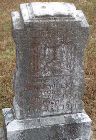 "MCPHERSON DANNENBERG, CHRISTINE A. ""C.A."" - Adair County, Oklahoma   CHRISTINE A. ""C.A."" MCPHERSON DANNENBERG - Oklahoma Gravestone Photos"