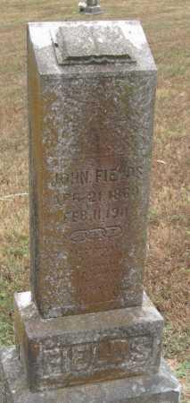 FIELDS, JOHN - Adair County, Oklahoma | JOHN FIELDS - Oklahoma Gravestone Photos