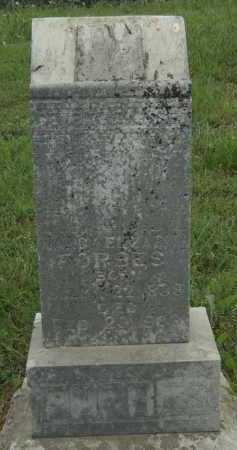FORBES, NANCY ELIZABETH - Adair County, Oklahoma | NANCY ELIZABETH FORBES - Oklahoma Gravestone Photos