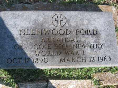 FORD (VETERAN WWI), GLENWOOD - Adair County, Oklahoma   GLENWOOD FORD (VETERAN WWI) - Oklahoma Gravestone Photos