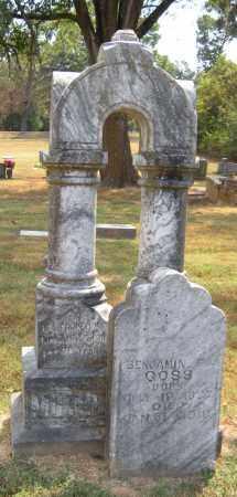 GOSS, BENJAMIN F - Adair County, Oklahoma | BENJAMIN F GOSS - Oklahoma Gravestone Photos