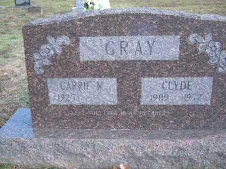 GRAY, CLYDE - Adair County, Oklahoma   CLYDE GRAY - Oklahoma Gravestone Photos