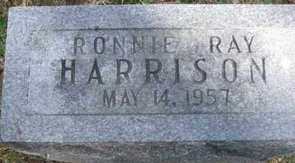 HARRISON, RONNIE RAY - Adair County, Oklahoma   RONNIE RAY HARRISON - Oklahoma Gravestone Photos