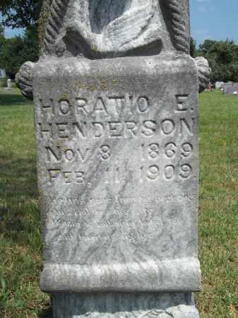 HENDERSON (CLOSEUP), HORATIO E - Adair County, Oklahoma | HORATIO E HENDERSON (CLOSEUP) - Oklahoma Gravestone Photos
