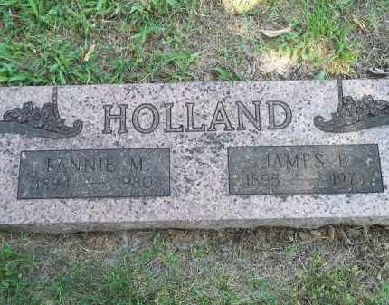 HOLLAND, FANNIE M - Adair County, Oklahoma | FANNIE M HOLLAND - Oklahoma Gravestone Photos