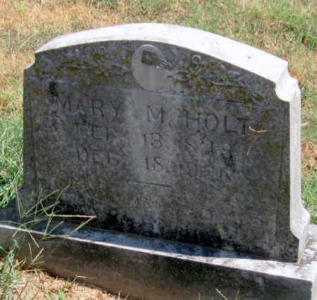 SIXKILLER HOLT, MARY M - Adair County, Oklahoma | MARY M SIXKILLER HOLT - Oklahoma Gravestone Photos