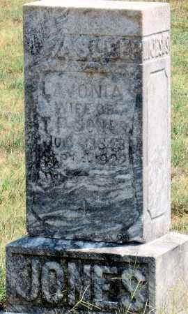 JONES, LAVONIA - Adair County, Oklahoma   LAVONIA JONES - Oklahoma Gravestone Photos