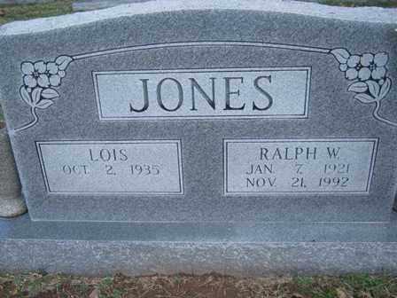 JONES, RALPH W. - Adair County, Oklahoma | RALPH W. JONES - Oklahoma Gravestone Photos