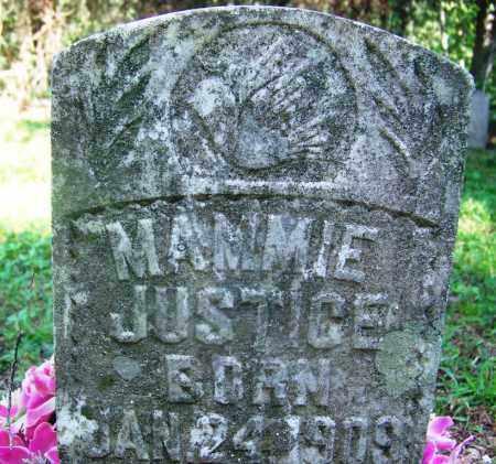 JUSTICE, MAMIE - Adair County, Oklahoma | MAMIE JUSTICE - Oklahoma Gravestone Photos