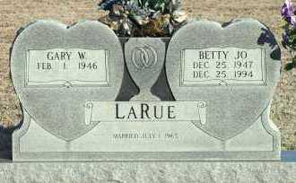 LARUE, BETTY JO - Adair County, Oklahoma | BETTY JO LARUE - Oklahoma Gravestone Photos
