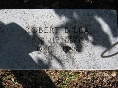 LEA (VETERAN), ROBERT E. - Adair County, Oklahoma | ROBERT E. LEA (VETERAN) - Oklahoma Gravestone Photos