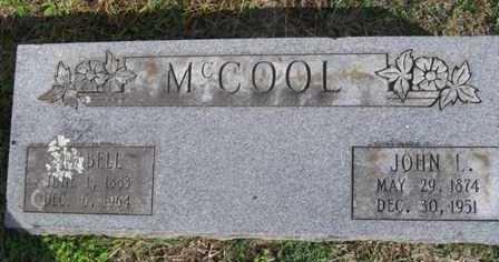 MCCOOL, JOHN LEMON - Adair County, Oklahoma | JOHN LEMON MCCOOL - Oklahoma Gravestone Photos