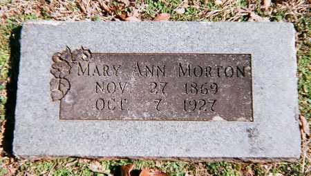 MORTON, MARY ANN - Adair County, Oklahoma | MARY ANN MORTON - Oklahoma Gravestone Photos