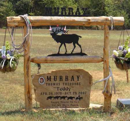 MURRAY, THOMAS THEODORE - Adair County, Oklahoma   THOMAS THEODORE MURRAY - Oklahoma Gravestone Photos