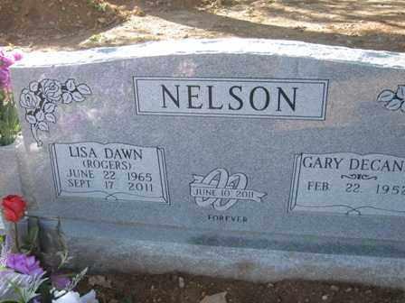 NELSON, LISA DAWN - Adair County, Oklahoma   LISA DAWN NELSON - Oklahoma Gravestone Photos