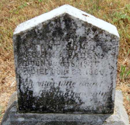 PADEN, INFANT SON - Adair County, Oklahoma | INFANT SON PADEN - Oklahoma Gravestone Photos