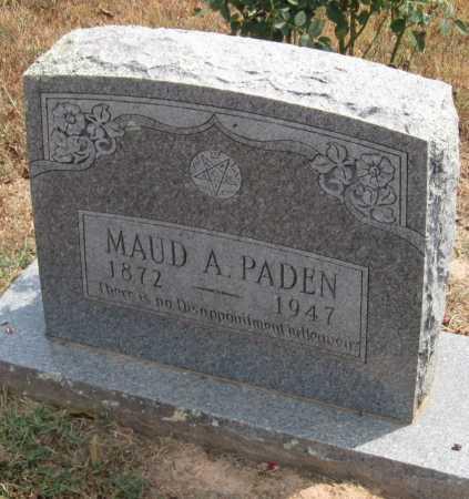 PADEN, MAUD ALMA - Adair County, Oklahoma | MAUD ALMA PADEN - Oklahoma Gravestone Photos