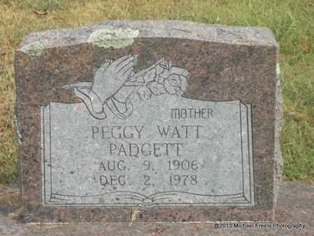PADGETT, PEGGY - Adair County, Oklahoma | PEGGY PADGETT - Oklahoma Gravestone Photos