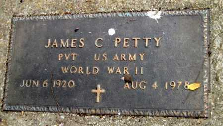 PETTY (VETERAN WWII), JAMES C - Adair County, Oklahoma | JAMES C PETTY (VETERAN WWII) - Oklahoma Gravestone Photos