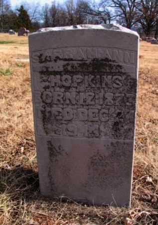 MEANS HOPKINS, SARAH ANN - Adair County, Oklahoma | SARAH ANN MEANS HOPKINS - Oklahoma Gravestone Photos