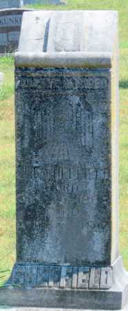 SHEFFIELD, J. T. - Adair County, Oklahoma | J. T. SHEFFIELD - Oklahoma Gravestone Photos