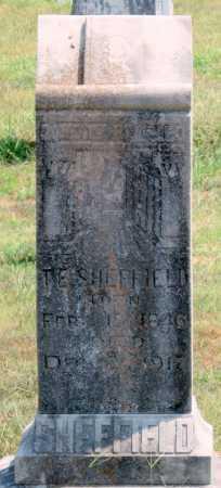 SHEFFIELD, THOMAS E - Adair County, Oklahoma | THOMAS E SHEFFIELD - Oklahoma Gravestone Photos