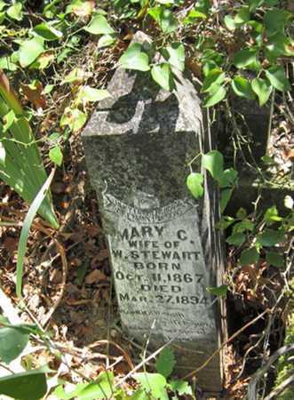 TWIST STEWART, MARY CATHERINE - Adair County, Oklahoma | MARY CATHERINE TWIST STEWART - Oklahoma Gravestone Photos