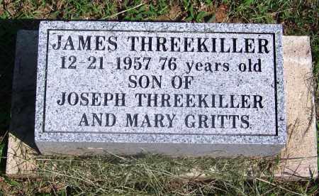 THREEKILLER, JAMES - Adair County, Oklahoma | JAMES THREEKILLER - Oklahoma Gravestone Photos