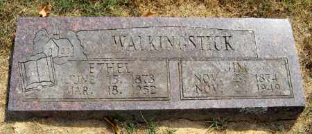 WALKINGSTICK, ETHEL - Adair County, Oklahoma | ETHEL WALKINGSTICK - Oklahoma Gravestone Photos