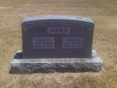 WARD, JULIA A - Adair County, Oklahoma   JULIA A WARD - Oklahoma Gravestone Photos