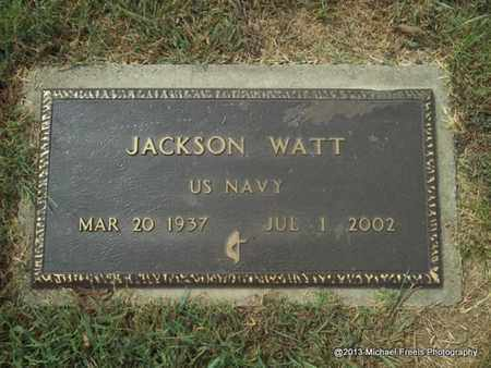 WATT (VETERAN), JACKSON - Adair County, Oklahoma   JACKSON WATT (VETERAN) - Oklahoma Gravestone Photos