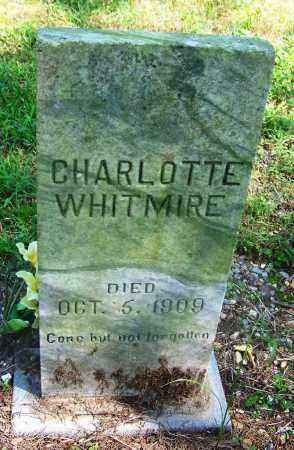 WHITMIRE, CHARLOTTE - Adair County, Oklahoma | CHARLOTTE WHITMIRE - Oklahoma Gravestone Photos