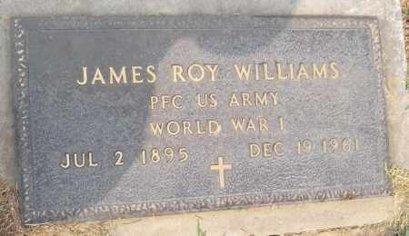WILLIAMS (WORLD WAR I), JAMES ROY - Adair County, Oklahoma | JAMES ROY WILLIAMS (WORLD WAR I) - Oklahoma Gravestone Photos