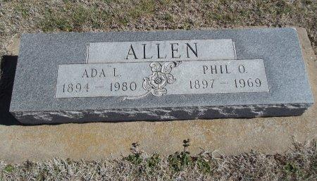 ALLEN, PHIL O - Alfalfa County, Oklahoma   PHIL O ALLEN - Oklahoma Gravestone Photos