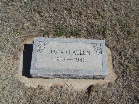 ALLEN, JACK O - Alfalfa County, Oklahoma | JACK O ALLEN - Oklahoma Gravestone Photos