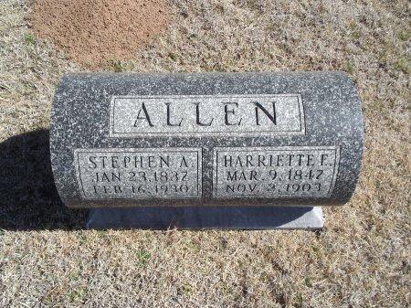 ALLEN, STEPHEN A - Alfalfa County, Oklahoma | STEPHEN A ALLEN - Oklahoma Gravestone Photos