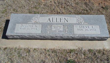 ALLEN, STEVE LEO - Alfalfa County, Oklahoma | STEVE LEO ALLEN - Oklahoma Gravestone Photos